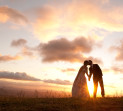 Sunset wedding photographer Brisbane