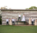 Fun filled wedding photos Brisbane