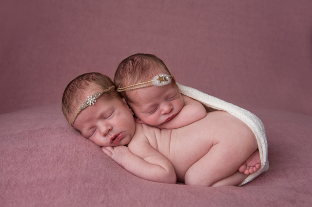 Cute Twin Baby Photos Brisbane
