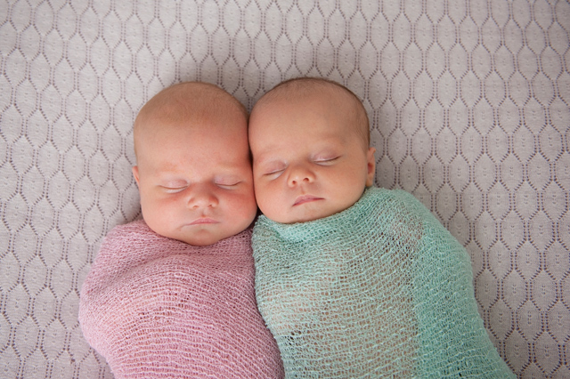 twin newborn babies photos Brisbane
